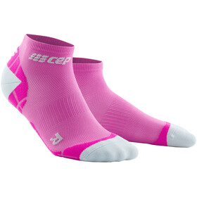 cep Ultralight Krótkie skarpetki Kobiety, electric pink/light grey